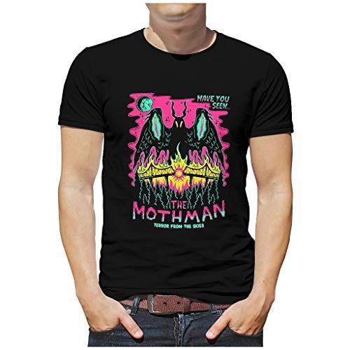 Camiseta de algodón ultra para amante con el texto 'The Mothman Terror'