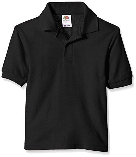 65/35 Polo Kids - Farbe: Black - Größe: 128 (7-8)