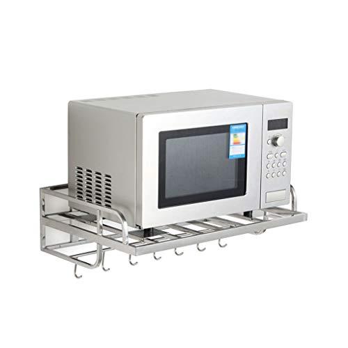 NHK-MX Enkele laag Magnetron Oven Rack RVS Oven Beugel Wandsteun Met 6 Haken