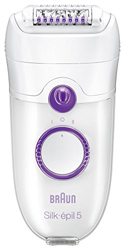 Braun Silk-épil 5 - 5180 Legs Epilator with Efficiency Cap and Cooling Glove