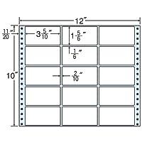 東洋印刷 タックフォームラベル 12インチ ×10インチ 15面付(1ケース500折) M12H