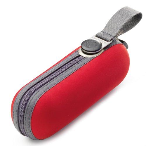 Knirps X1 811 - Paraguas plegable, color rojo