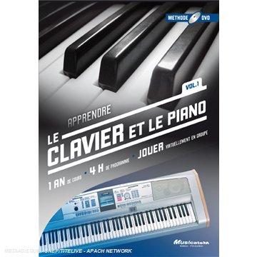 MUSICATEM DVD - APPRENDRE LE CLAVIER ET LE PIANO -