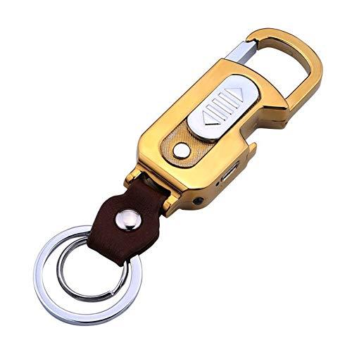 DSZZ Health Aansteker, sleutelhanger, USB, met sigarettenaansteker, flesopener en verlichting, opladen aansteker, liefde, mannen en vrouwen, geschenken