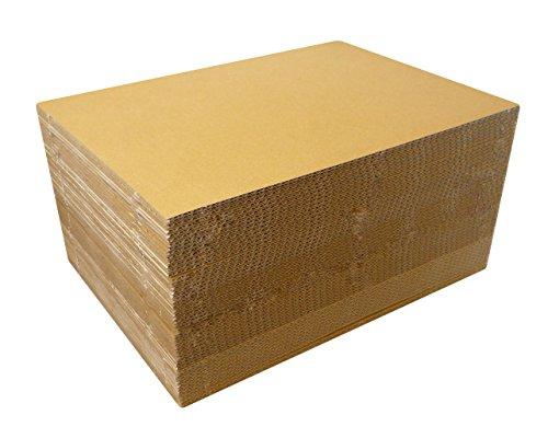 ボックスバンク ダンボール 板・工作・アート用 A4ワイド (304×216mm) 3mm厚 100枚セット FB29-0150