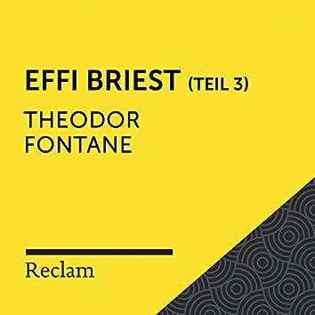 Fontane: Effi Briest (Reclam Hörbuch) - Teil 3