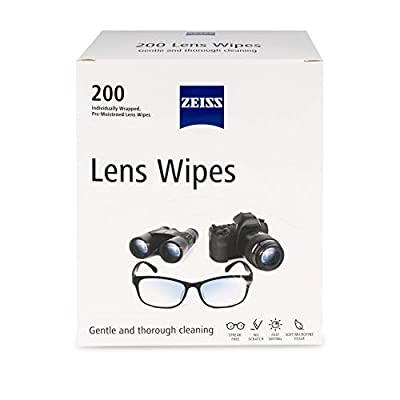 Zeiss Pre-Moistened Lens Cleaning Wipes, 200 Count (Pack of 1) from Zeiss