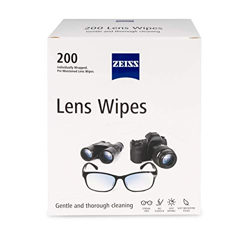 Zeiss Pre-Moistened Lens Cleaning Wipes, 200 Count (Pack of 1)