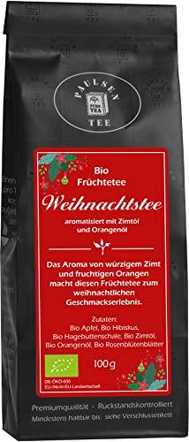 Paulsen Tee Bio Weihnachtstee Früchtetee 100g