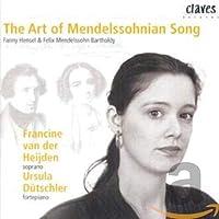 Art of Mendelssohnian Song