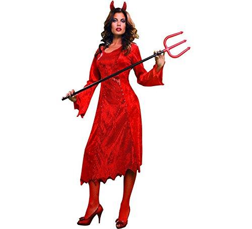 Disfraz de Diablesa rojo para mujer