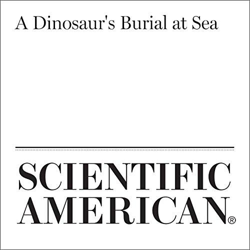 A Dinosaur's Burial at Sea audiobook cover art
