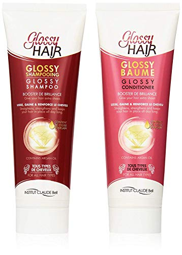Veana Claude Bell Glossy Hair Shampoing Plus Conditionneur, 1 Pack (1 X 500 ML)