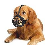 Lepark Dog Muzzle, Soft Silicone Basket...