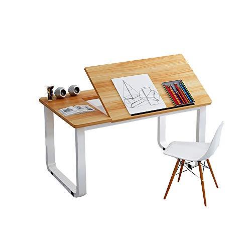 YNN Table Bureau Bureau Multifonction Canapé Table D'appoint Bureau D'ordinateur Bureau De Bureau Réglable Table D'étude des Ménages 100 * 50 * 73cm (Couleur : A)
