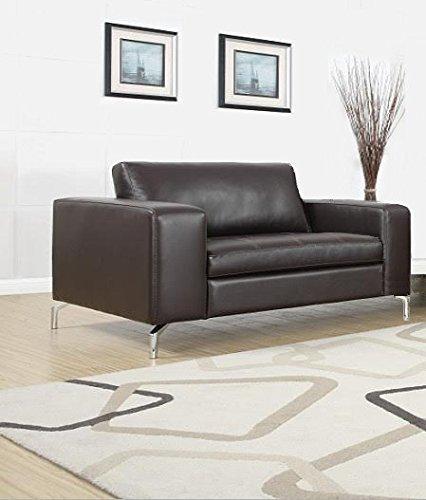 Madison Sessel Loungesessel Sofa Couch Garnitur Polstergarnitur Kunstleder Pellissima - braun