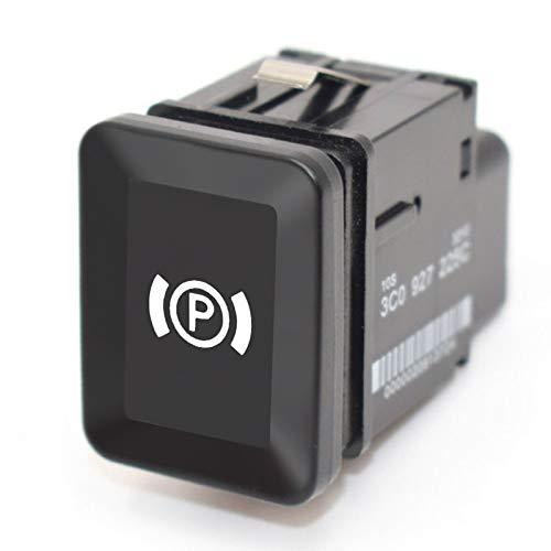 Interruptor de coche para Pa-ssat B6 C6 CC universal coche estacionamiento interruptor EPB freno de mano electrónico interruptor interruptor de freno de repuesto
