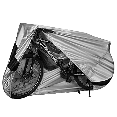 Funda de Bicicleta al Aire Libre Cubierta Impermeable para Bicicleta con Orificios de Bloqueo contra Lluvia Sol Polvo para Carretera Bici 200x70x110 cm