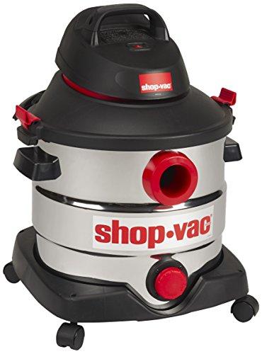 Shop-Vac 8 Gallon Stainless Wet Dry Vacuum, Black
