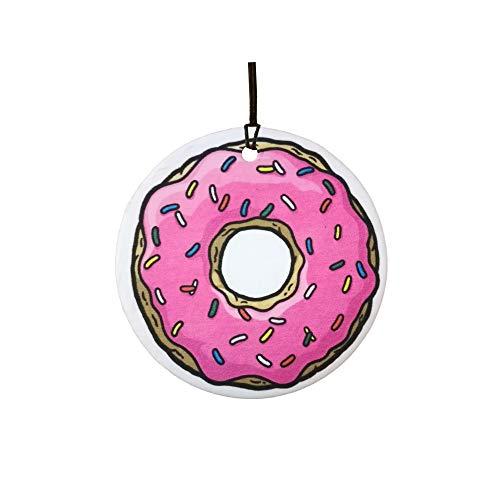Ali Air Freshener Donut Auto Lufterfrischer/Duftanhänger - Vanilla Scent