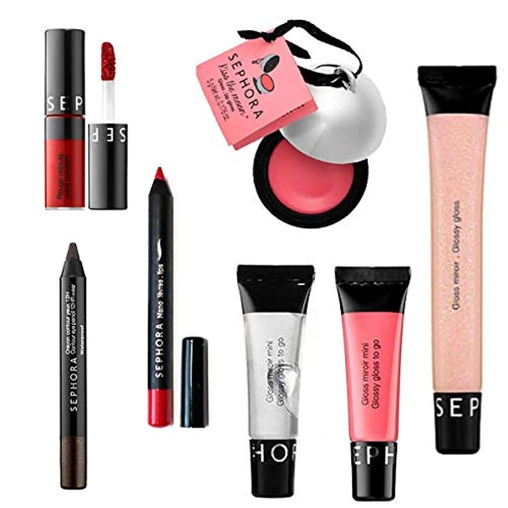 パラシュート引き出し飛躍Sephora, Special 7 Set - 6 for Lip, 1 for Eye [海外直送品] [並行輸入品]