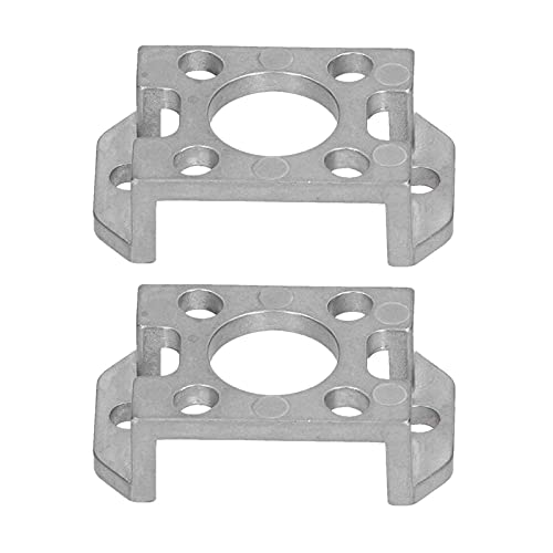 2Pcs Linear Rail Shaft Support, Square Beam Fixed Seat Zinc Alloy Linear Rail Fixed Seat for Gobilda Accessories 3208‑0001‑0002