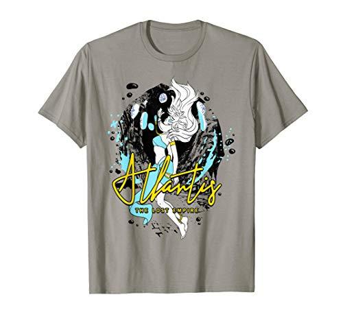 Disney Atlantis Floating Kida Watercolor Graphic T-Shirt