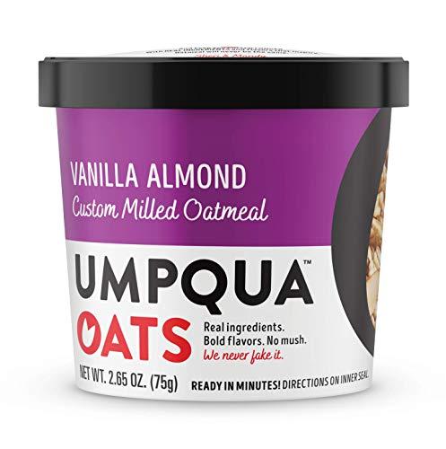 Umpqua Oats All Natural Oatmeal Cups Vanilla Almond Cup 8 Count