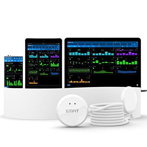 Emfit QS HRV Monitor de sueño, Color Blanco