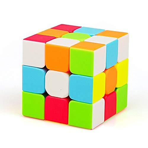 HJXDtech - Cubo de Velocidad 3X3X3 Speed Cube Versión Profesional avanzada Smooth Magic Cube Puzzle Toy Sin Etiqueta