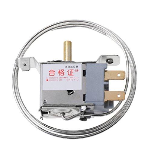 Qiulip WPF22-L - Termostato para refrigerador (2 pines, control de temperatura)