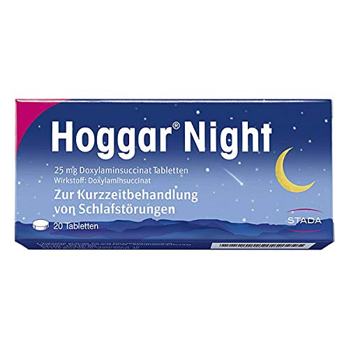 Hoggar Night Tabletten, 20 St. Tabletten