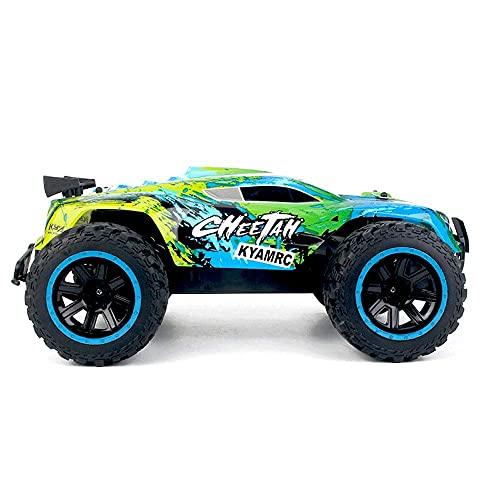 SXLCKJ 1:14 Nuevo RC Coche de Control Remoto Profesional Bigfoot Off-Road Racing Toy