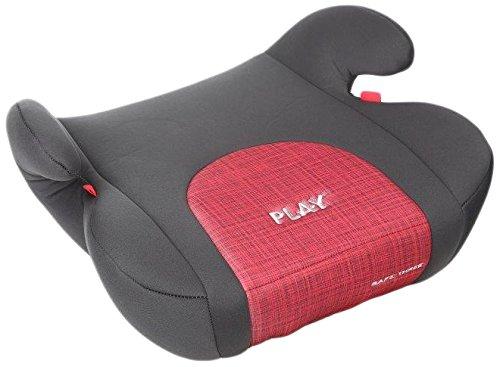 Play Safe Three Plus, Silla de coche grupo 2/3, rojo (Red Devil)