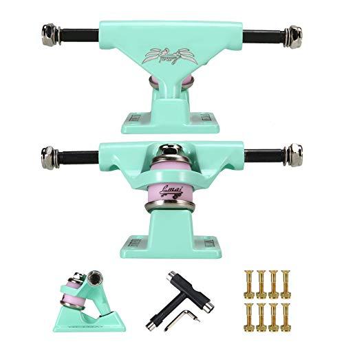 LMAI Skateboard Trucks (Set of 2) 3.25  with Hexagon Screws 1  & Tool