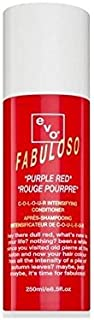 Evo Fabuloso Colour Intensifying Conditioner Purple Red (250ml) (Pack of 2)
