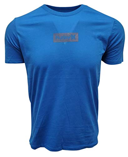 Hurley Dri-fit Box - Camiseta de manga corta para hombre - Verde - Large