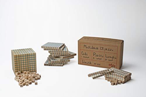 Dida - Giochi di Matematica|Abaco|Pallottoliere|Blocchi multibase (Multibase, Multibase 131 PZ)