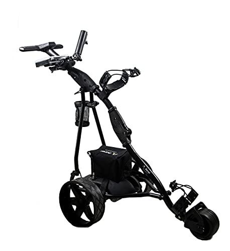 Zerimar Kenrod Golf Cart Elektrisch | Golfwagen Trolley Klappbar | Golftrolley 3 Rad | Golftrolley Elektro