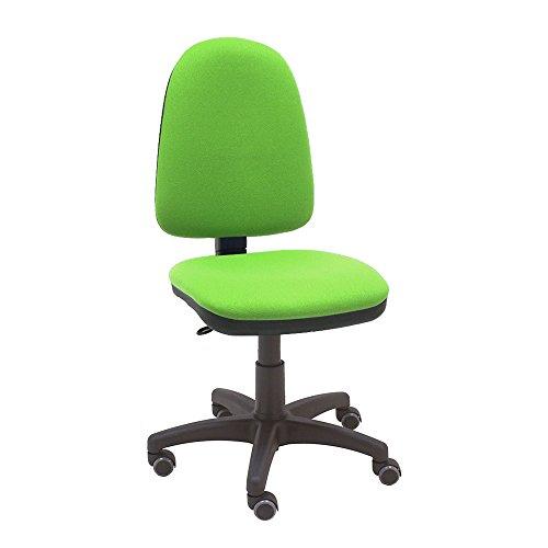La Silla de Claudia - Silla giratoria de escritorio Torino verde pistacho para oficinas y hogares er