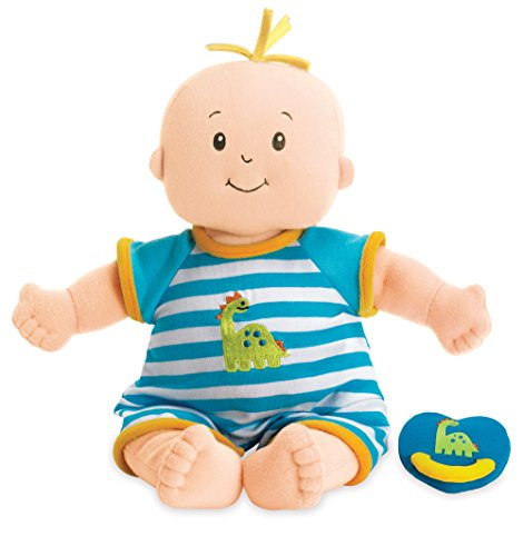 Manhattan Toy 143780 Baby Stella Boy weiches erstes Babypuppe für Alter ab 1 Jahr, 15