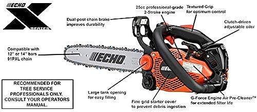 ECHO 12 In. Bar Chainsaw