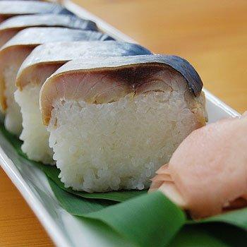 ふみこ農園 紀州本場 鯖寿司を発酵させて作る なれずし(2本入) 早なれ