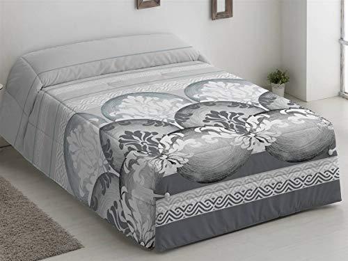 Camatex - Conforter LEIRE Cama 135 - Color Gris