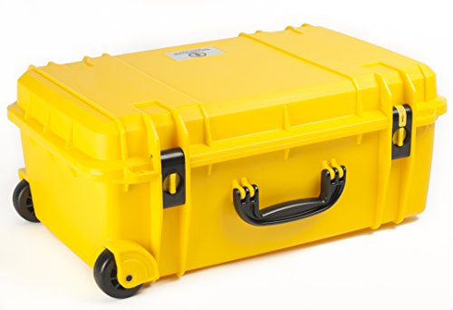 Seahorse SE-920 Waterproof Protective Hardcase without Foam (Yellow), Medium