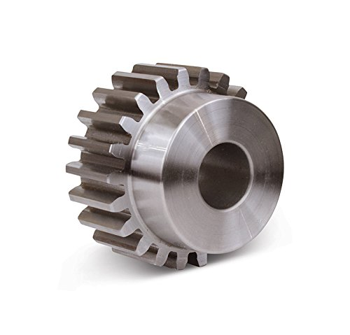 "Boston Gear NA13B-5/16 Spur Gear, 14.5 Pressure Angle, Steel, Inch, 20 Pitch, 0.313"" Bore, 0.750"" OD, 0..375"" Face Width, 13 Teeth"