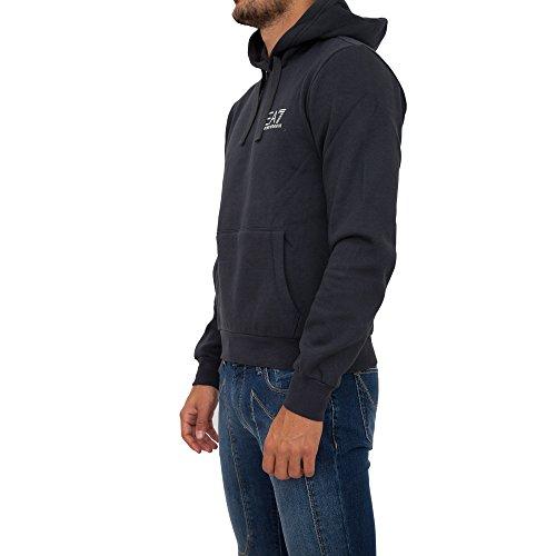 EMPORIO ARMANI EA7 6YPM63 Herren Men Kapuzenpullover Hoodie Sweatshirt Navy NEU (L)
