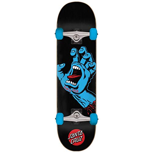 Santa Cruz Skateboard complet Screaming Hand 8' Noir
