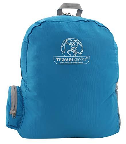 TRAVELSAFE Unisexe Ts0466.5900 Mini Sac à Dos, Bleu, NA
