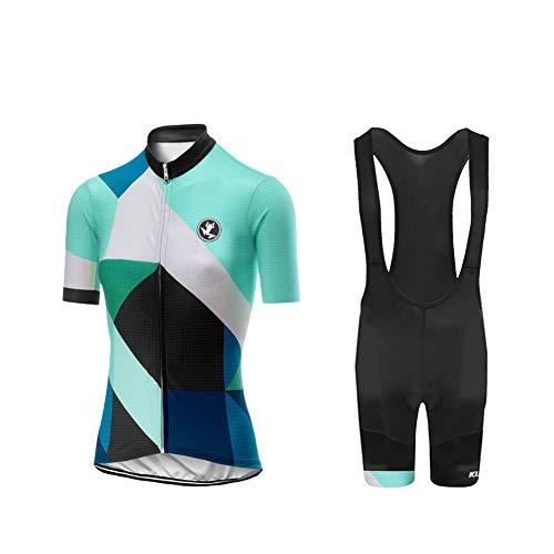UGLY FROG Bike Wear Radsport Bekleidung Damen Summer Style Trikots & Shirts + Damen Radtrikot Set Radhose mit 20D Sitzpolster